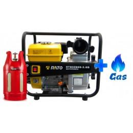 Газовая мотопомпа Rato RT80ZB28-3.6Q LPG, , 7124.00 грн, Газовая мотопомпа Rato RT80ZB28-3.6Q LPG, Rato, Мотопомпа для слабозагрязненной воды