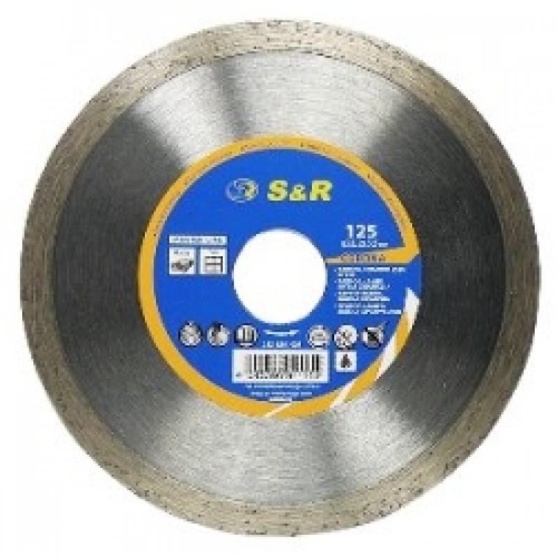 Диск отрезной алмазный S&R Meister по керамике 125 мм. 125.00 грн