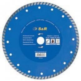 Диск отрезной S&R Turbo по бетону Premium 230, , 1078.00 грн, Диск отрезной S&R Turbo по бетону Premium 230, S&R Power, Диски алмазные отрезные