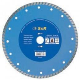 Диск отрезной S&R Turbo по бетону Standart 180, , 354.00 грн, Диск отрезной S&R Turbo по бетону Standart 180, S&R Power, Диски алмазные отрезные