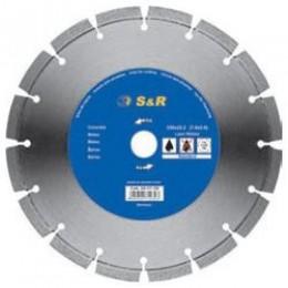 Диск отрезной сегментный S&R по бетону Standart 230, , 1415.00 грн, Диск отрезной сегментный S&R по бетону Standart 230, S&R Power, Диски алмазные отрезные