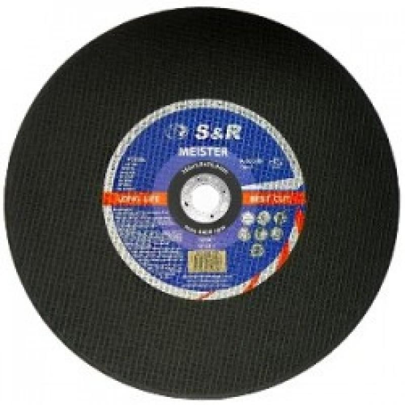 Круг отрезной по металлу S&R Meister A 30 S BF 350x3,0x25,4