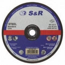 Круг отрезной по металлу S&R Meister типа A 30 S-BF 230x2.5, , 35.00 грн, Круг отрезной по металлу S&R Meister типа A 30 S-BF 230x2.5, S&R Power, Круги абразивные отрезные