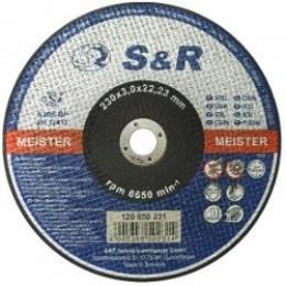 Круг отрезной по металлу S&R Meister типа A 30 S-BF 230x3, , 35.00 грн, Круг отрезной по металлу S&R Meister типа A 30 S-BF 230x3, S&R Power, Круги абразивные отрезные