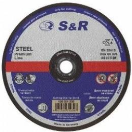 Круг отрезной по металлу S&R Supreme типа AS 30 T 180, , 30.00 грн, Круг отрезной по металлу S&R Supreme типа AS 30 T 180, S&R Power, Круги абразивные отрезные