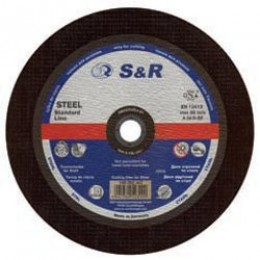 Круг отрезной по металлу S&R Supreme типа AS 36 T 350, , 140.00 грн, Круг отрезной по металлу S&R Supreme типа AS 36 T 350, S&R Power, Круги абразивные отрезные