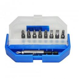 Набор бит S&R в пластиковом кейсе 10 шт, , 223.00 грн, Набор бит S&R в пластиковом кейсе 10 шт, S&R Power, Наборы сверл и бит