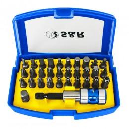 Набор бит с битодержателем S&R 32 шт., , 263.00 грн, Набор бит с битодержателем S&R 32 шт., S&R Power, Наборы сверл и бит
