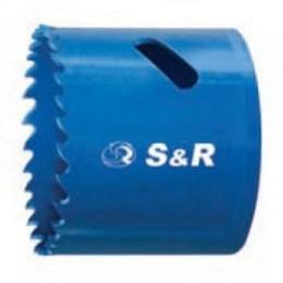 Биметаллическая кольцевая пила S&R 43 х 38, , 284.00 грн, Биметаллическая кольцевая пила S&R 43 х 38, S&R Power, Пилы кольцевые би-металлические