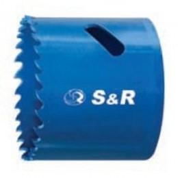 Биметаллическая кольцевая пила S&R 86 х 38, , 447.00 грн, Биметаллическая кольцевая пила S&R 86 х 38, S&R Power, Пилы кольцевые би-металлические