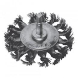 Щетка дисковая S&R, стальная плетенная проволока 70, , 104.00 грн, Щетка дисковая S&R, стальная плетенная проволока 70, S&R Power, Щетки проволочные