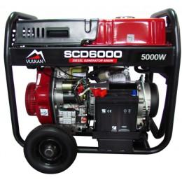 Дизельный генератор Vulkan SCD6000 (34409), , 23255.00 грн, Дизельный генератор Vulkan SCD6000 (34409), Vulkan, Дизельные генераторы