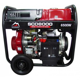 Дизельный генератор Vulkan SCD8000 (34410), , 26543.00 грн, Дизельный генератор Vulkan SCD8000 (34410), Vulkan, Дизельные генераторы