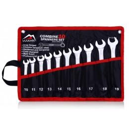 Набор ключей комбинированных Vulkan VLK TC10 (23160), , 294.00 грн, Набор ключей комбинированных Vulkan VLK TC10 (23160), Vulkan, Наборы ключей