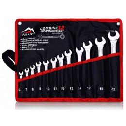 Набор ключей комбинированных Vulkan VLK TC12 (23161), 23161, 307.00 грн, Набор ключей комбинированных Vulkan VLK TC12 (23161), Vulkan, Наборы ключей