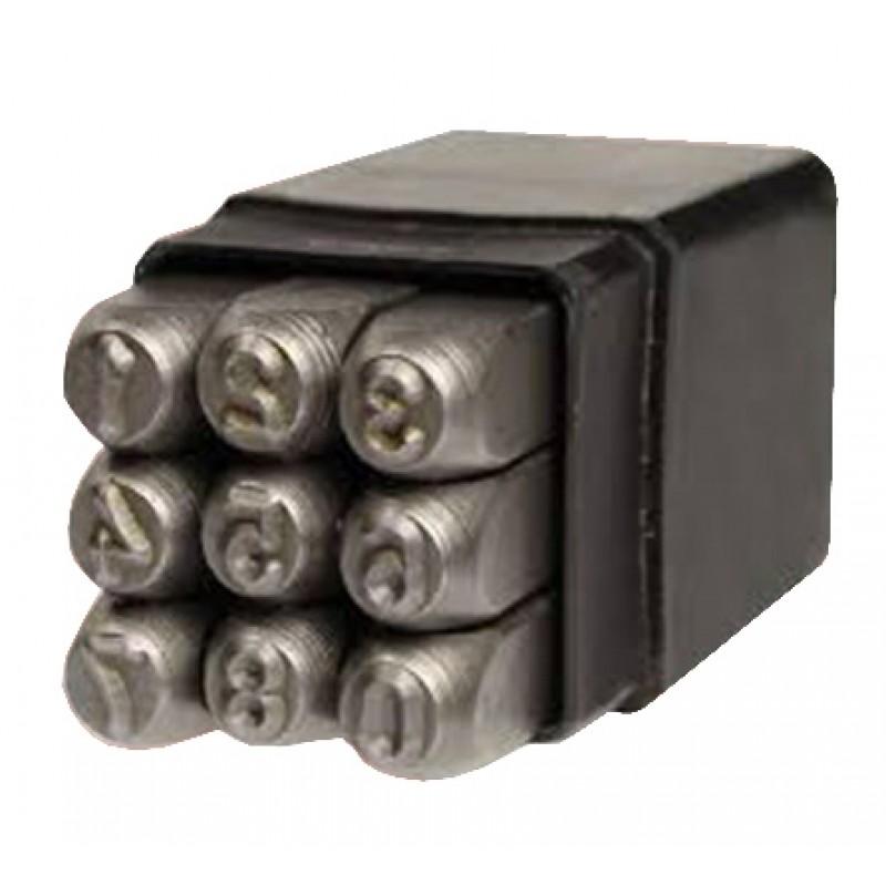Набор цифровых ударных клейм Vulkan 8 мм (15788) 201.00 грн