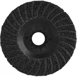 Диск шлифовальный Yato 125х22.2 мм, Р80 по дереву, металлу, камню (YT-83265)