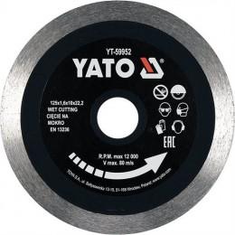 Диск отрезной Yato 125x1.6x10x22.2 мм (YT-59952)