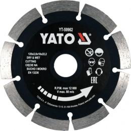 Диск отрезной Yato 125x2x10x22.2 мм (YT-59962)
