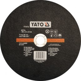 Диск отрезной YATO по метталу 300 х 32 мм (YT-6113)