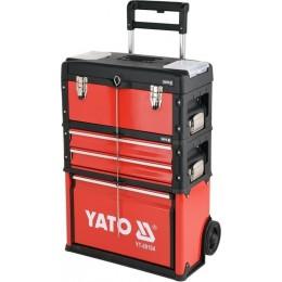 Тележка чемодан с инструментами Yato YT-09104, , 9504.00 грн, Тележка чемодан с инструментами Yato YT-09104, Yato, Наборы инструментов