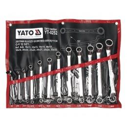 Набор накидных ключей Yato YT-0252, , 3383.00 грн, Набор накидных ключей Yato YT-0252, Yato, Наборы ключей