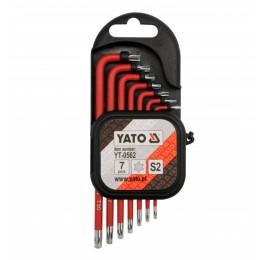 Шестигранники Yato YT-0562, , 179.00 грн, Шестигранники Yato YT-0562, Yato, Наборы ключей