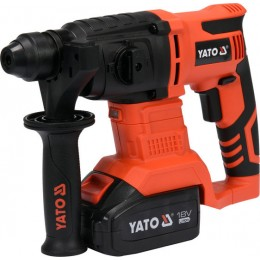 Перфоратор аккумуляторный Yato YT-82770, , 4705.00 грн, Перфоратор аккумуляторный Yato YT-82770, Yato, Перфораторы аккумуляторные