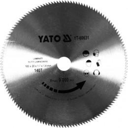 Диск пильный Yato 180x1.7x20 мм, 140 зубьев (YT-60631), , 145.00 грн, Диск пильный Yato 180x1.7x20 мм, 140 зубьев (YT-60631), Yato, Диски пильные