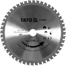 Диск пильный Yato 185x2.2x20 мм, 48 зубьев (YT-60625), , 594.00 грн, Диск пильный Yato 185x2.2x20 мм, 48 зубьев (YT-60625), Yato, Диски пильные