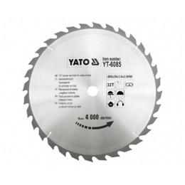 Диск пильный Yato 400х30x3.8x2.8 мм, 32 зубьев (YT-6085), , 1120.00 грн, Диск пильный Yato 400х30x3.8x2.8 мм, 32 зубьев (YT-6085), Yato, Диски пильные