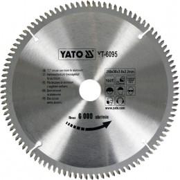 Диск пильный YATO по алюминию 250х30х3.0x2.2 мм, 100 зубцов (YT-6095), , 827.00 грн, Диск пильный YATO по алюминию 250х30х3.0x2.2 мм, 100 зубцов (YT-, Yato, Диски пильные