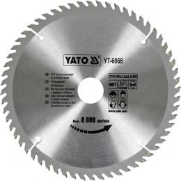 Диск пильный YATO по дереву 210х30x3.2x2.2 мм, 60 зубцов (YT-6068), , 350.00 грн, Диск пильный YATO по дереву 210х30x3.2x2.2 мм, 60 зубцов (YT-606, Yato, Диски пильные