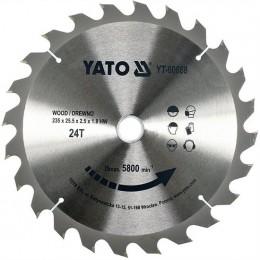 Диск пильный YATO по дереву 235х25.5x2.5х1.8 мм, 24 зубца (YT-60668), , 265.00 грн, Диск пильный YATO по дереву 235х25.5x2.5х1.8 мм, 24 зубца (YT-60, Yato, Диски пильные