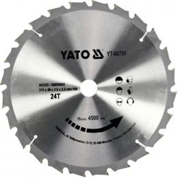 Диск пильный YATO по дереву 315х30х3.5х2.5 мм, 24 зубца (YT-60790), , 715.00 грн, Диск пильный YATO по дереву 315х30х3.5х2.5 мм, 24 зубца (YT-6079, Yato, Диски пильные