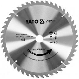 Диск пильный YATO по дереву 315х30х3.5х2.5 мм, 48 зубцов (YT-60792), , 695.00 грн, Диск пильный YATO по дереву 315х30х3.5х2.5 мм, 48 зубцов (YT-607, Yato, Диски пильные