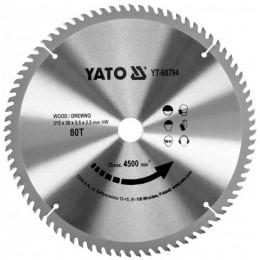 Диск пильный YATO по дереву 315х30х3.5х2.5 мм, 80 зубцов (YT-60794), , 839.00 грн, Диск пильный YATO по дереву 315х30х3.5х2.5 мм, 80 зубцов (YT-607, Yato, Диски пильные