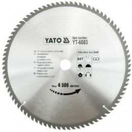 Диск пильный YATO по дереву 350х30х3.5х2.5 мм, 84 зубца (YT-6083), , 928.00 грн, Диск пильный YATO по дереву 350х30х3.5х2.5 мм, 84 зубца (YT-6083, Yato, Диски пильные