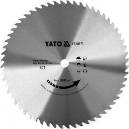 Диск пильный Yato по дереву 500x32x4.5 мм, 60 зубцов (YT-60871), , 2050.00 грн, Диск пильный Yato по дереву 500x32x4.5 мм, 60 зубцов (YT-60871), Yato, Диски пильные