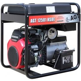 Генератор бензиновый AGT 12501 HSBE R45