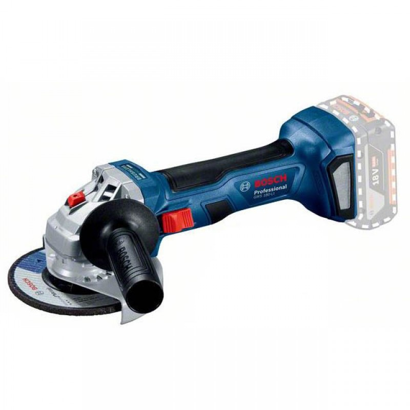 Аккумуляторная бесщеточная угловая шлифмашина Bosch GWS 180-LI Professional (без АКБ) (06019H9020) 4031.00 грн