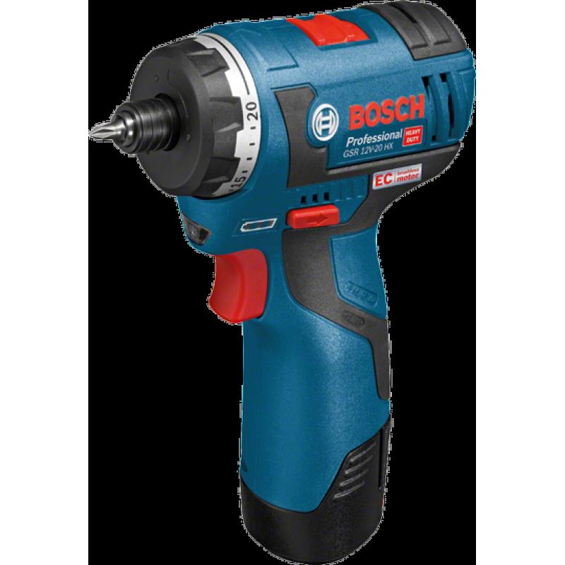 Аккумуляторный шуруповерт Bosch GSR 12V-20 HX (06019D4102) (без аккумулятора и ЗУ) 3433.00 грн