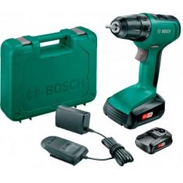 Аккумуляторный шуруповерт Bosch UniversalDrill18 (2 акк.) кейс (06039C8005)