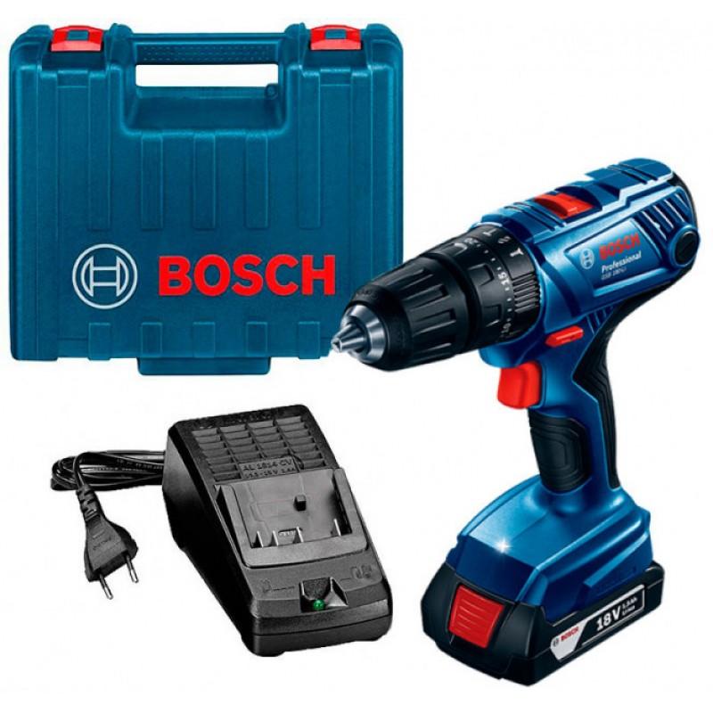 Аккумуляторный ударный шуруповерт Bosch GSB 180-LI (06019F8307) 5655.00 грн