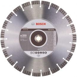 Алмазный диск Bosch Best for Abrasive 350-20/25,4 мм (2608602686) 4745.00 грн