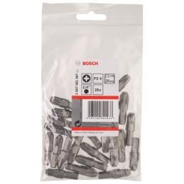 Набор бит Bosch Extra Hard, 32 мм, PZ4, 25 шт (2607001567) 373.00 грн