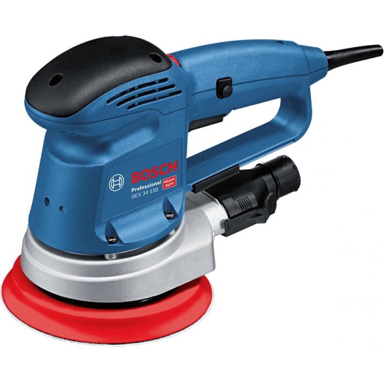 Эксцентриковая шлифмашина Bosch GEX 34-150 Professional (601372800) 6995.00 грн