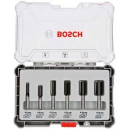 Набор пазовых фрез Bosch с хвостовиком 8 мм, 6 шт. (2607017466) 1282.00 грн
