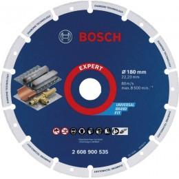 Алмазний диск по металу Bosch, 180х22 мм (2608900535)