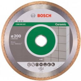 Алмазный диск Bosch Standard for Ceramic 200-25,4 мм (2608602537)